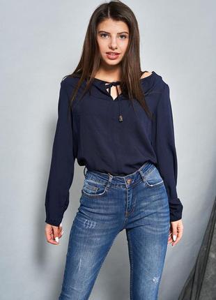Выбеленные джинсы-скинни2 фото