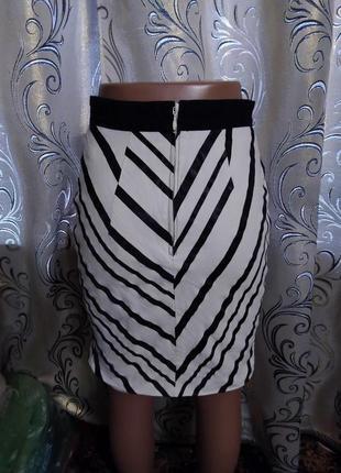 Крутая полосатая юбка h&m4 фото