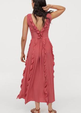Натуральное платье h&m, большой размер.3 фото