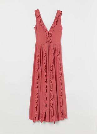 Натуральное платье h&m, большой размер.4 фото