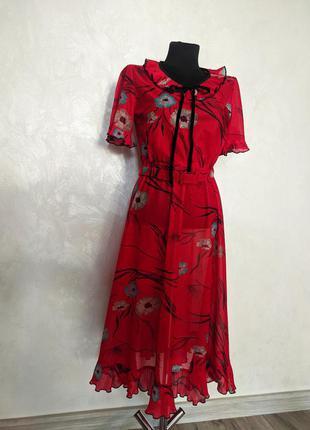 Винтажное платье с воротником англия винтаж для фотосессии1 фото