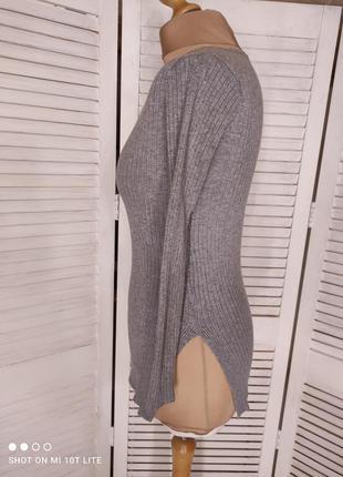 Джемпер в рубчик2 фото