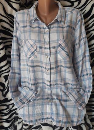 Супер стильная рубашка 16-18-20р