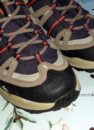 🎁1+1=3 шикарные водонепроницаемые кроссовки ботинки quechua, размер 383 фото