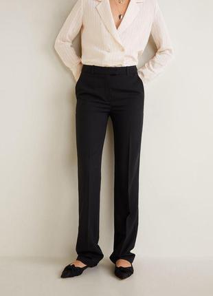 Безумно красивые силуэтные брюки из премиальной линейки mango
