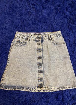 Джинсовая юбка в идеальном состоянии