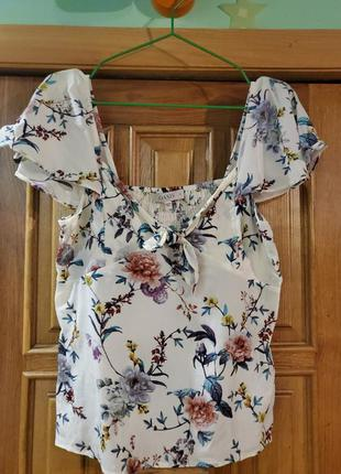 Летняя блуза. 42-46.