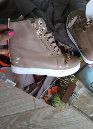 Красивые кросовки с цепочкой5 фото