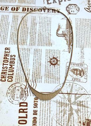 Колье avon маркировка винтаж цвет золото цепочка подвеска
