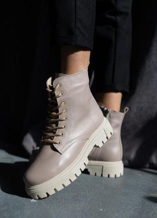 Женские ботинки кожаные1 фото