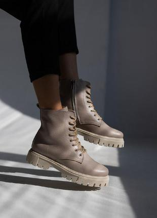 Женские ботинки кожаные2 фото
