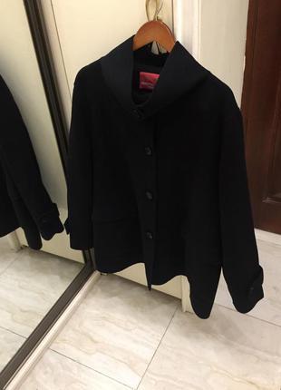 Пальто преміум брендове marina rinaldi marina sport wool coat oригінал.1 фото