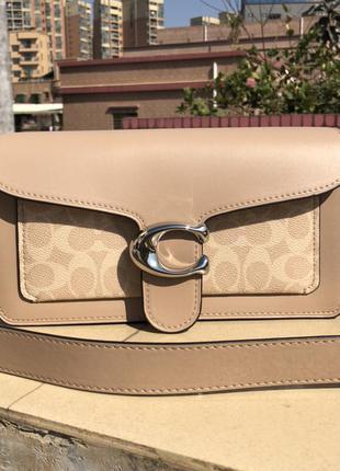 Женская сумка в сьиле coach1 фото