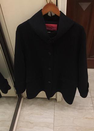 Пальто преміум брендове marina rinaldi marina sport wool coat oригінал.2 фото