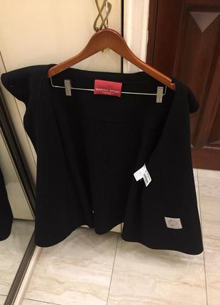 Пальто преміум брендове marina rinaldi marina sport wool coat oригінал.6 фото