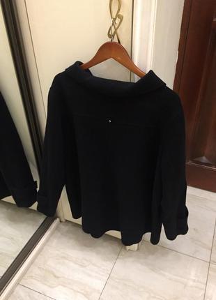 Пальто преміум брендове marina rinaldi marina sport wool coat oригінал.9 фото