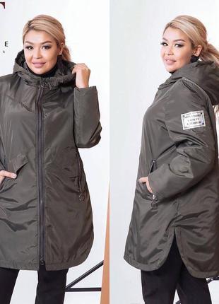 Куртка plus size1 фото