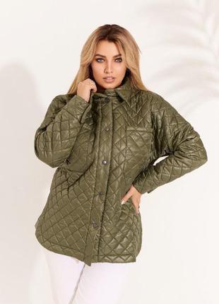 Стеганная куртка1 фото
