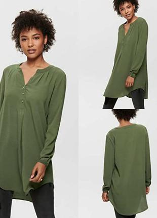 Рубашка блуза only1 фото