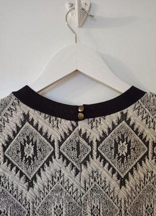 Платье в геометрический принт3 фото