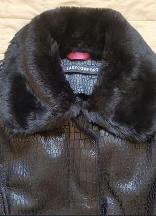 Дубленка шуба (теплая зима) италия4 фото