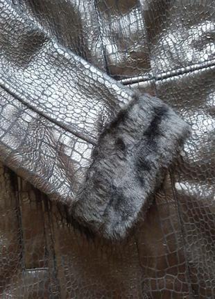 Дубленка шуба (теплая зима) италия5 фото
