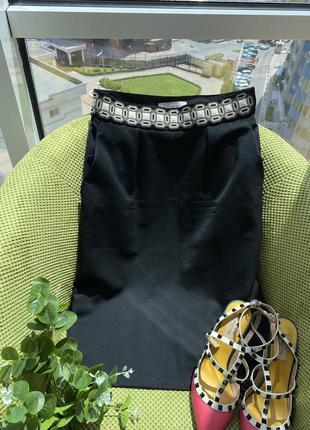 Шикарная юбка /ysl , оригинал/скидка 40 размер1 фото