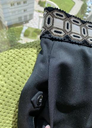 Шикарная юбка /ysl , оригинал/скидка 40 размер4 фото