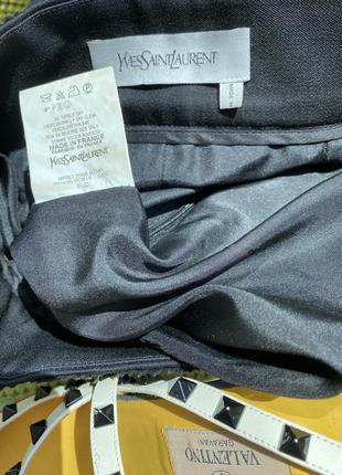 Шикарная юбка /ysl , оригинал/скидка 40 размер9 фото