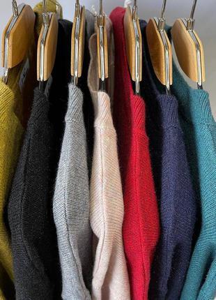 Женский свитер размер 50-54 цвета6 фото