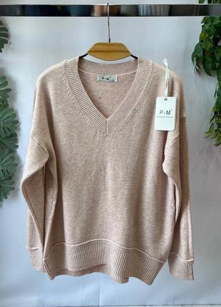 Женский свитер размер 50-54 цвета1 фото