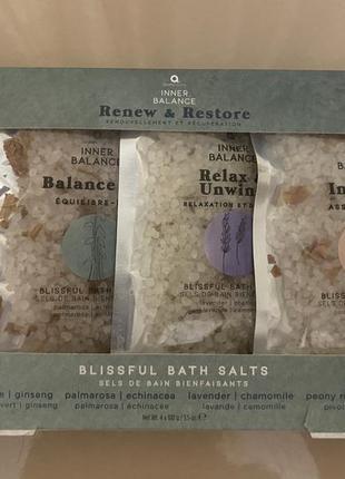 Набір солі для ванни