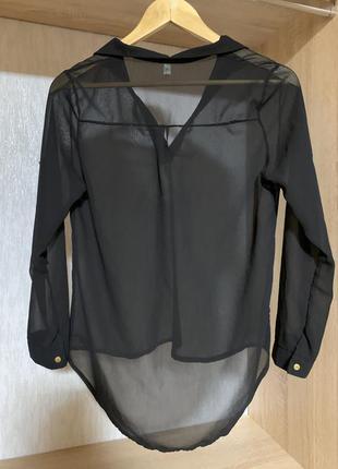 Сорочка прозора, блуза1 фото
