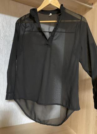Сорочка прозора, блуза2 фото