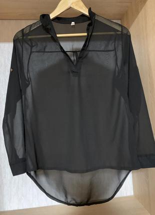 Сорочка прозора, блуза3 фото
