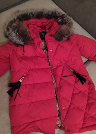 Куртка жіноча зимова 443 фото