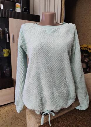 Мягенький тепленький свитерок пижамный.1 фото
