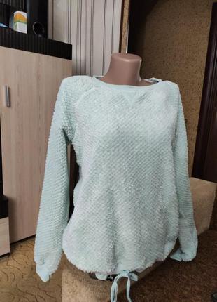 Мягенький тепленький свитерок пижамный.2 фото
