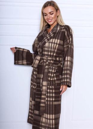 Шикарное пальто7 фото