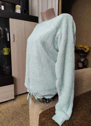 Мягенький тепленький свитерок пижамный.3 фото