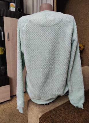 Мягенький тепленький свитерок пижамный.4 фото
