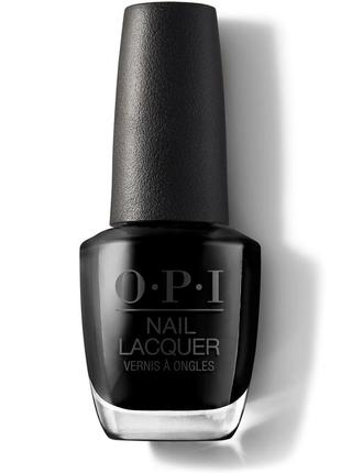 Лак для ногтей o.p.i черный