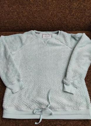 Мягенький тепленький свитерок пижамный.6 фото