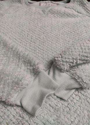 Мягенький тепленький свитерок пижамный.7 фото