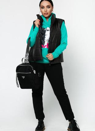 Спортивный костюм 3-ка женский  46-602 фото