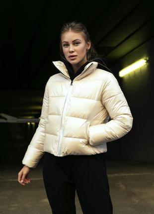 Стильна жіноча куртка фран1 фото