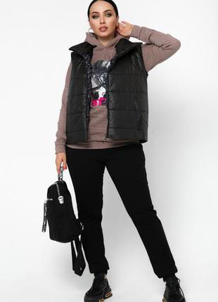 Спортивный костюм 3-ка женский  46-604 фото