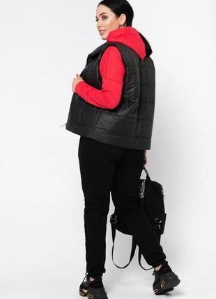 Спортивный костюм 3-ка женский  46-605 фото