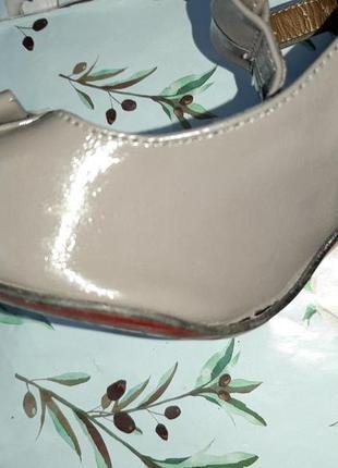 🌿1+1=3 стильные серые женские туфли на каблуке faith connexion в стиле 80-х, размер 384 фото