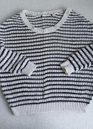 ✨легенький, короткий  светр , сітка ✨6 фото